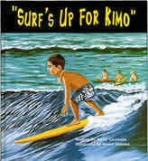【BOOKS】Surf's Up For Kimow ritten by Kerry Germain, illustrated by Keoni Montes/書籍・新聞雑誌/海外版/幼児・子供