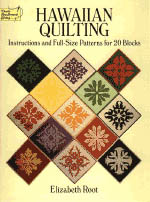 【BOOKS】Hawaiian Quilting 20 Blocks  by Elizabeth Root/書籍・新聞雑誌/海外版/工芸・美術