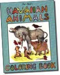 【BOOKS】Hawaiian Animals Coloring Book by Pat Hall/書籍・新聞雑誌/海外版/絵本・色彩