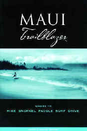 【BOOKS】Maui Trailblazer Where to Hike, Snorkel, Paddle, Surf & Drive by Jerry & Janine Sprout/書籍・新聞雑誌/海外版/観光・ガイド
