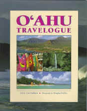 【BOOKS】Oahu Travelogue by Douglas Peebles, J. Curtis Sanburn/書籍・新聞雑誌/海外版/観光・ガイド