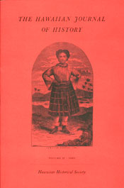 【BOOKS】The Hawaiian Journal of History Volume 35 ・2001 edited by The Hawaiian Historical Society/書籍・新聞雑誌/海外版/歴史・伝説