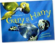 【BOOKS】The Adventures of Gary & Harry A Tale of Two Turtles Story by Lisa Matsumoto, Illustration/書籍・新聞雑誌/海外版/幼児・子供