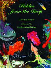 【BOOKS】Fables from the Deep by Leslie Ann Hayashi illustrated by Kathleen Wong Bishop/書籍・新聞雑誌/海外版/幼児・子供