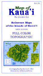 【BOOKS】Map of Kauai Reference Maps of the Islands of Hawaii - 6th by James A. Bier/書籍・新聞雑誌/海外版/幼児・子供