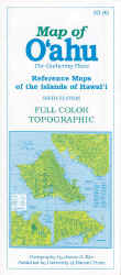 【BOOKS】Map of Oahu Reference Maps of the Islands of Hawaii - 6th by James A. Bier/書籍・新聞雑誌/海外版/幼児・子供
