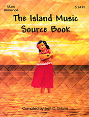 【BOOKS】The Island Music Source Book compiled by Brett C. Ortone/書籍・新聞雑誌/海外版/幼児・子供