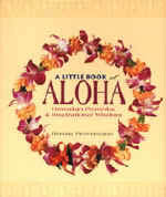 【BOOKS】A Little Book of Aloha  Hawaiian Proverbs & Inspirational Wisdom  by Renata Provenzano/書籍・新聞雑誌/海外版/幼児・子供