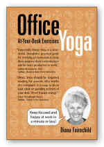 【BOOKS】Office Yoga At-Your-Desk Exercises by Diana Fairechild/書籍・新聞雑誌/海外版/幼児・子供