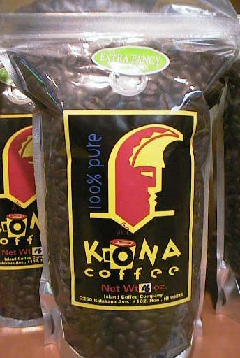 KONA COFFEE 100% EXTRA FANCY 226g/ドリンク・飲料品/コナコーヒー/ハワイ焙煎100%コナ