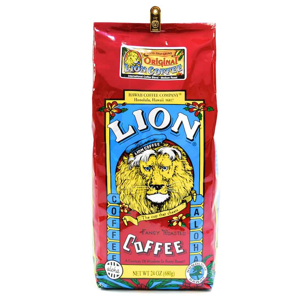 �h�����N�E��i/ LION COFFEE /�I���W�i�����C�I�� 7oz