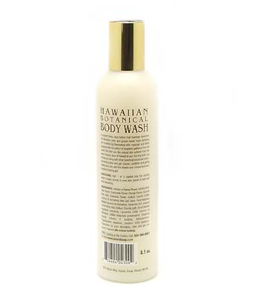 【Island Soap & Candle Works】HAWAIIAN BOTANICAL BODY WASH PIKAKE JUSMINE 8.5oz/コスメ・アロマ/コスメ/ソープ・石鹸