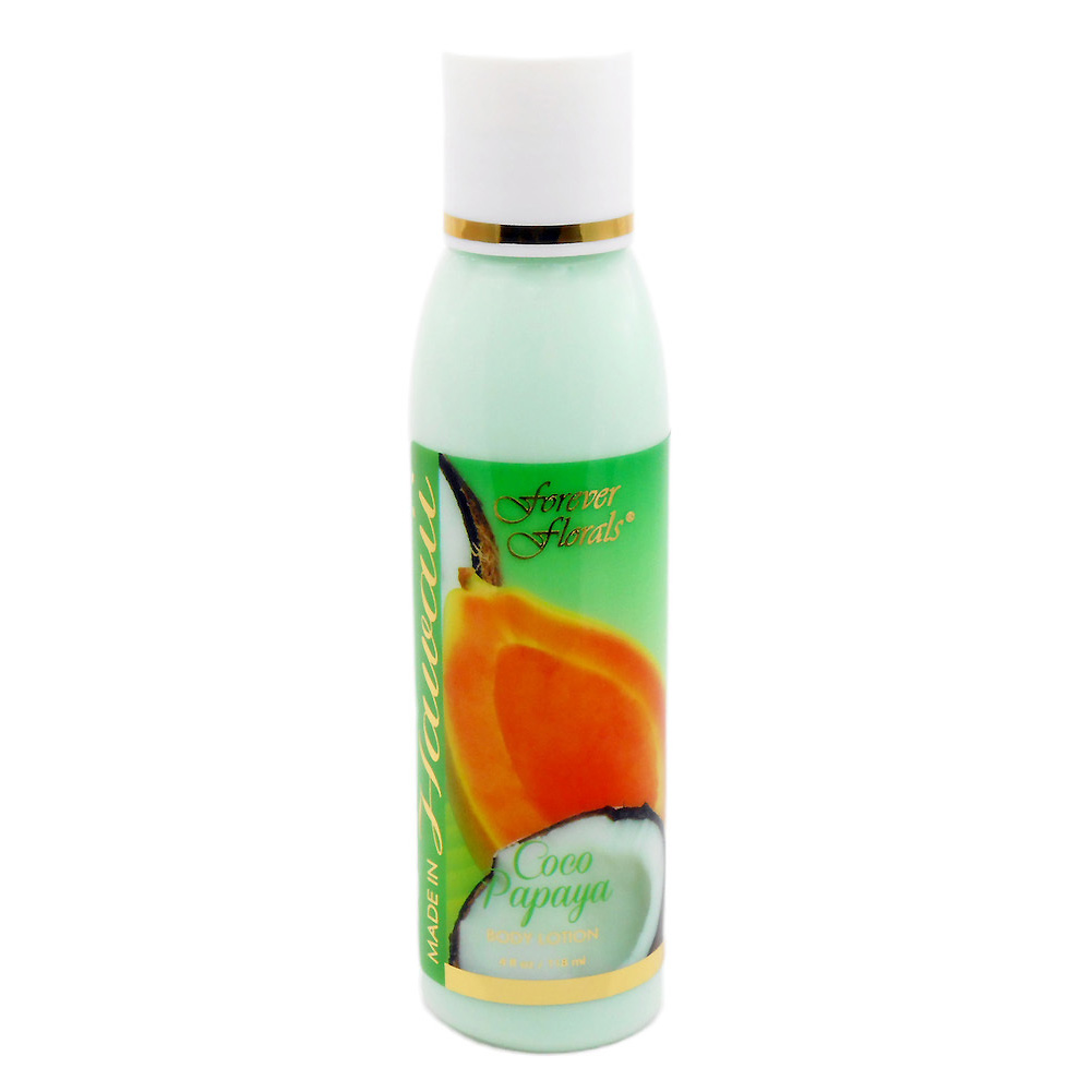 【Forever Florals】Body Lotion - Coco Papaya / ボディローション ココパパイヤ 4oz