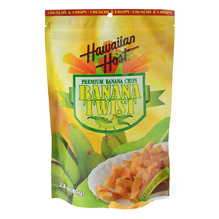 PREMIUM BANANA CHIPS / BANANA TWIST