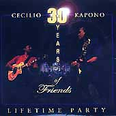 【CD】LIFETIME PARTY 30 YEARS OF FRIENDS /  CECILIO & KAPONO/音楽・楽器・映像/輸入版CD/CECILIO & KAPONO