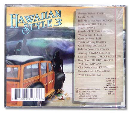 【CD】HAWAIIAN STYLE 3 / NEOS PRODUCTIONS/音楽・楽器・映像/輸入版CD/NEOS PRODUCTIONS
