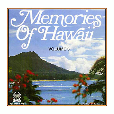 【CD】Memories Of Hawaii Vo3./ Various /音楽・楽器・映像/輸入版CD/LEHUA RECORDS