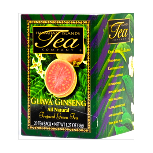 ドリンク・飲料品/ HAWAIIAN ISLANDS TEA GUAVA GINSENG 36g