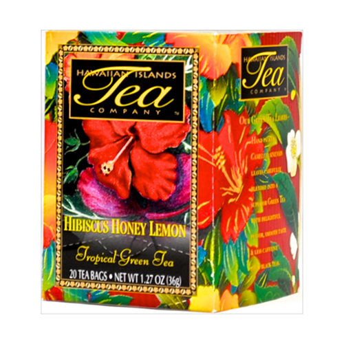 HAWAIIAN ISLANDS TEA HIBISCUS HONEY LEMON 36g